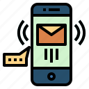 email, message, phone, smartphone, technology