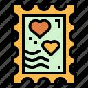 shapes, stamp, message, sign