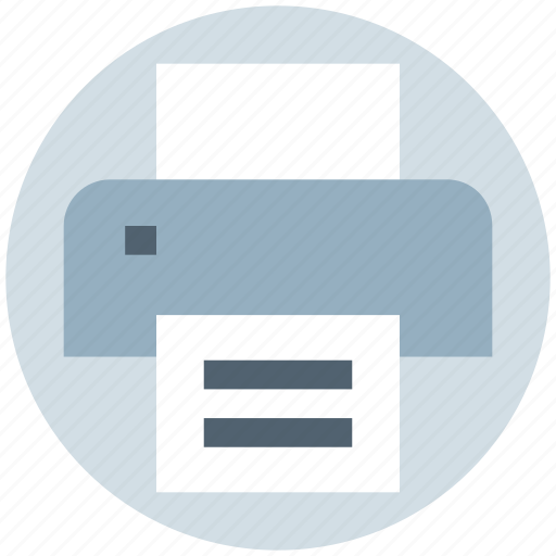 device, fax, paper, photo copy, printer, printing icon