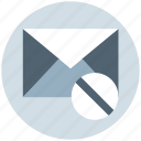 block, disable, email, envelope, letter, mail, message icon