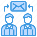 connect, email, envelope, exchange, mail, web