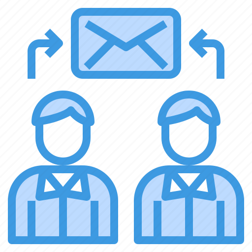 connect, email, envelope, exchange, mail, web icon