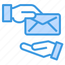email, envelope, exchange, mail, web icon