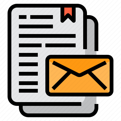 email, envelope, mail, newsletter, web icon
