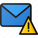 email, send, alert, mail icon