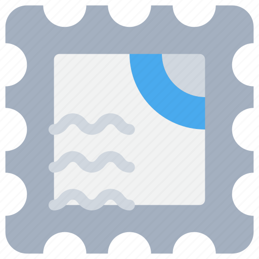 Email, letter, mail, stamp icon - Download on Iconfinder