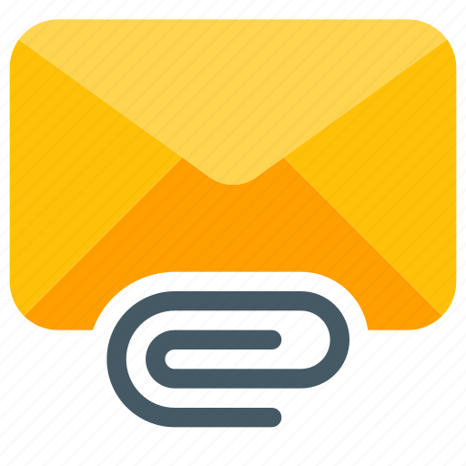 Attachment, clip, doc, email, envelope, mailbox, message icon - Download on Iconfinder