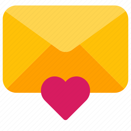 Email, envelope, favorite, heart, mail, mailbox, message icon - Download on Iconfinder