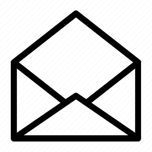 email, envelope, mail, opened, read icon
