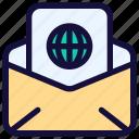 email, envelope, internet, letter, link, mail, message