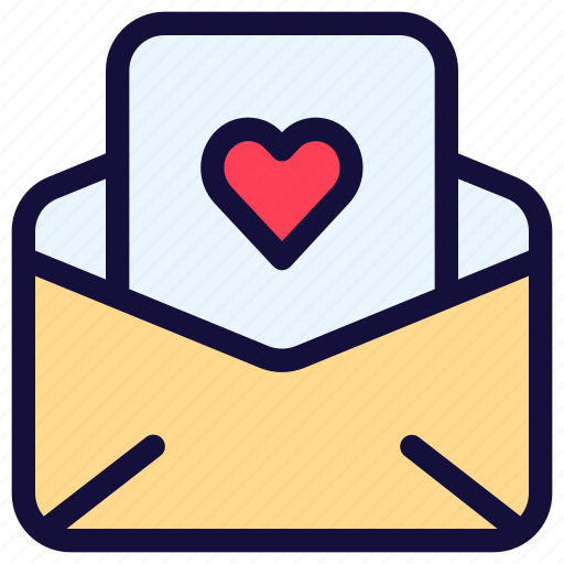 Email, envelope, letter, love, mail, message, paper icon - Download on Iconfinder