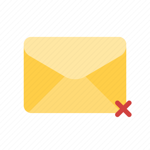 crossed, mail, not delivered, unsent icon