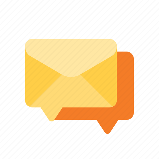 conversation, forum, group, mail icon