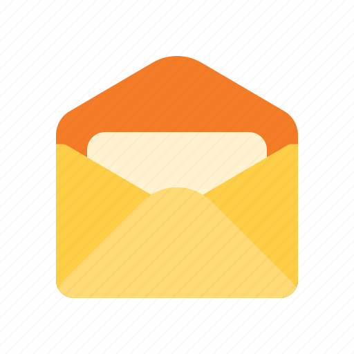 email, envelope, mail, unread icon
