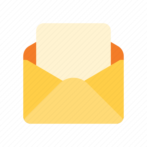 blank, letter, mail, read icon