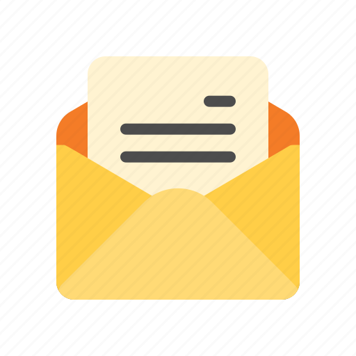 email, letter, mail, read icon