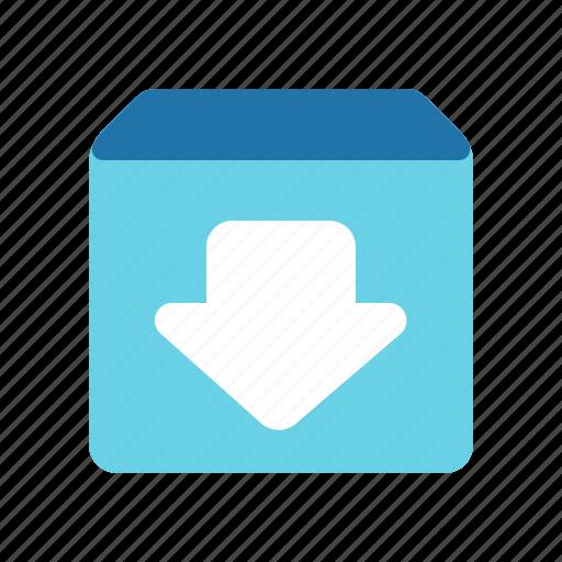 archieve, download, restore, update icon