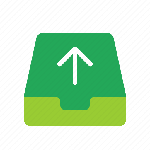 mailbox, outbox, outgoing mail, sent mail icon