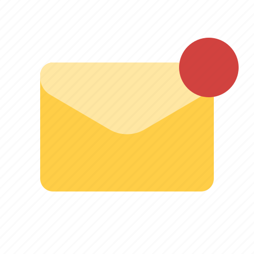 mail, new, notification, unread icon