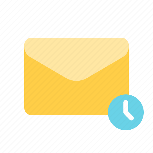 mail, pending, scheduled, sending icon
