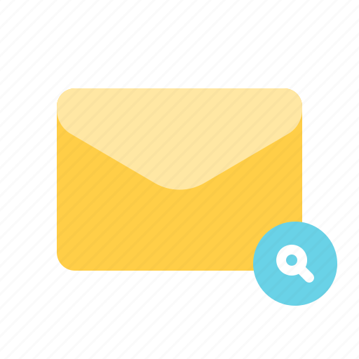 find, lookup, mail, search icon