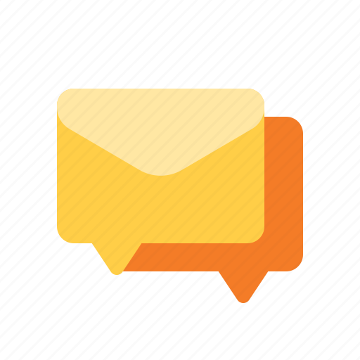 discussion, forum, group, mail icon