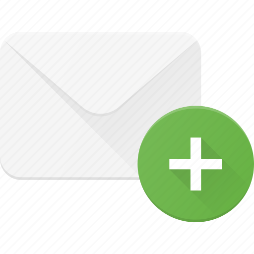 Add, email, envelope, mail, message icon - Download on Iconfinder