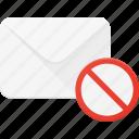delete, dismiss, email, envelope, mail, message