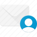 email, envelope, mail, message, personal, user