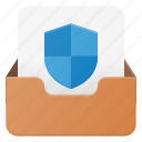 email, envelope, mail, message, protect