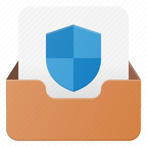 Email, envelope, mail, message, protect icon - Download on Iconfinder