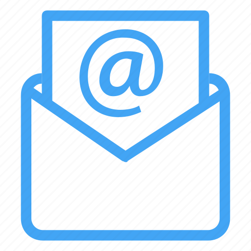 at, chat, communication, interaction, mail, message, sign icon
