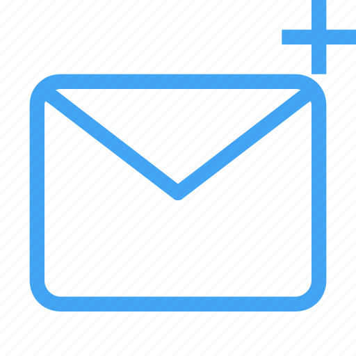 add, email, envelope, envelopment, letter, mail, message icon