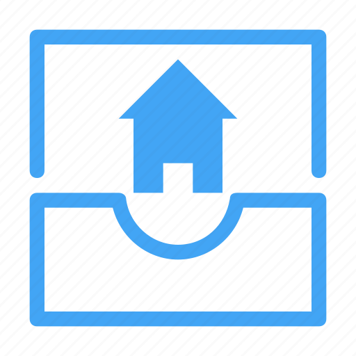 communication, email, envelope, home, house, interaction, message icon