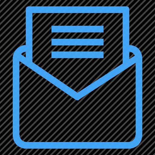 communication, document, documents, envelope, letter, mail, message icon