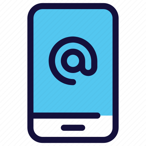 email, mail, smartphone, technology icon