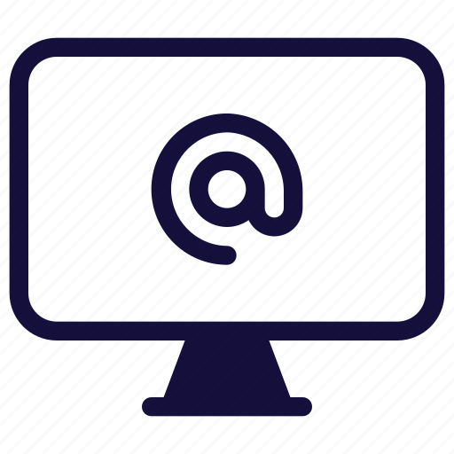 computer, email, message, monitor, technology icon