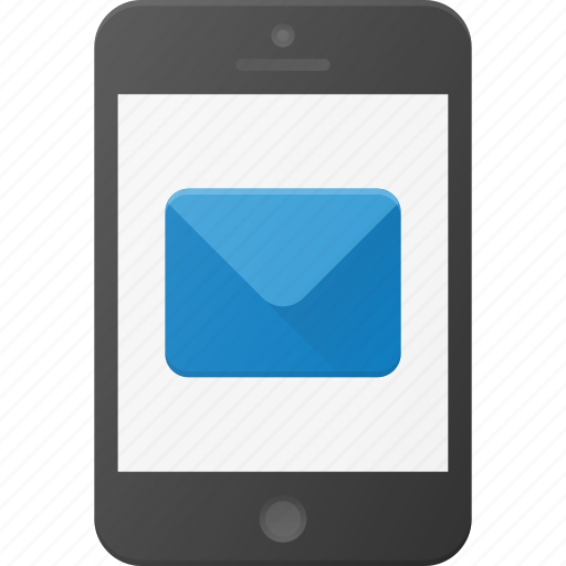 Email, message, mobile, phone, smartphone icon - Download on Iconfinder