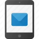 email, mail, message, mobile, tablet icon