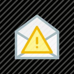 email, error, fail, failed, mail, receive, send icon