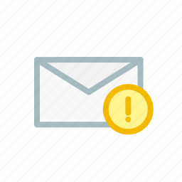 email, fail, failed, inbox, mail, receive, send icon