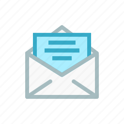card, email, envelope, letter, mail, receive, send icon