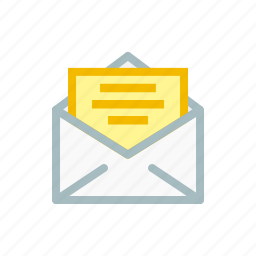 email, envelope, inbox, letter, mail, receive, send icon