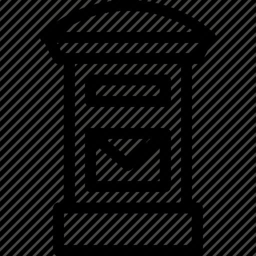 box, communication, creative, depart, email, envelope, go, grid, information, internet, letter, line, mail, message, news, off, post, post-mail, send, sent, shape, sign, technology, transport, travel icon