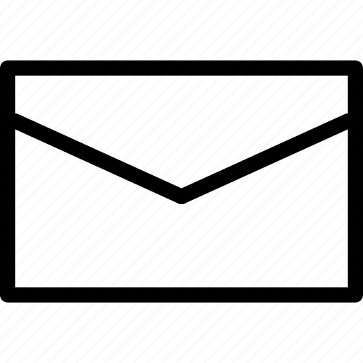 communication, creative, email, envelope, grid, interface, internet, letter, line, mail, message, news, shape icon