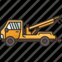 tow, truck, carrier, lift, transport