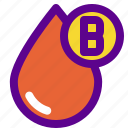 blood, health, hospital, medical, type icon