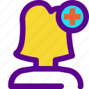 health, hospital, medical, nurse icon