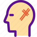 health, hospital, medical, scratch icon