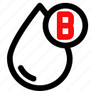 blood, health, hospital, medical, type icon